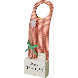 Flaschenanhänger Happy New Year Viel G