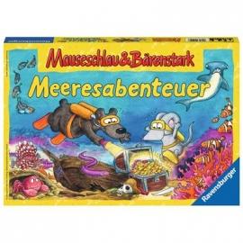 Ravensburger Spiel - Mauseschlau und Bärenstark Meeresabenteuer