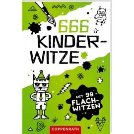 666 Kinderwitze - Mit 99 Flachwitzen