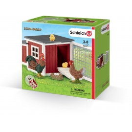 Schleich - World of Nature - Farm Life - Hühnerstall
