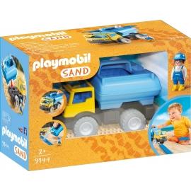 PLAYMOBIL 9144 - Sand - Wassertank Laster