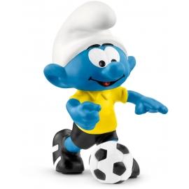 Schleich - Die Schlümpfe - Fußball Schlumpf mit Ball