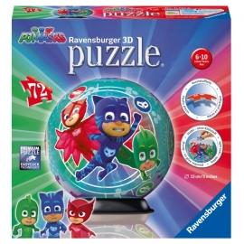 Ravensburger 117970 Puzzleball PJ Masks 72 Teile