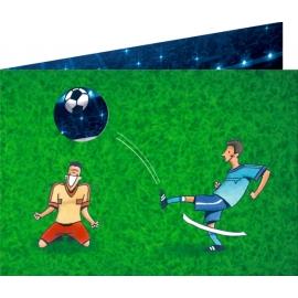Einladungskarten Fußball (8 St.)