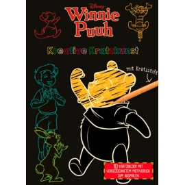 Nelson Verlag - Disney™ Winnie Puuh - Kreative Kratzkunst