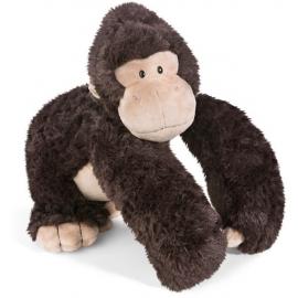 NICI - Wild Friends - Kuscheltier - Gorilla Torben, 30 cm sitzend mit Trommelbrust in Geschenkbox