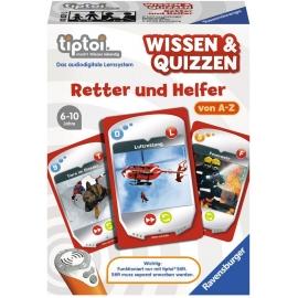Ravensburger Spiel - tiptoi - Wissen und Quizzen: Retter und Helfer
