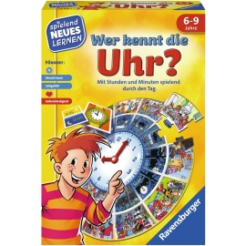 Ravensburger Spiel - Wer kennt die Uhr?