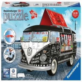 Ravensburger Puzzle - 3D Puzzle-Sonderformen Volkswagen T1 - Food Truck