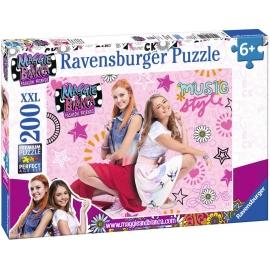 Ravensburger Puzzle - Maggie und Bianca - Freundschaft und Musik, 200 XXL-Teile