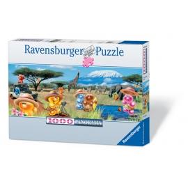Ravensburger Puzzle - Auf Safari!, 1000 Teile