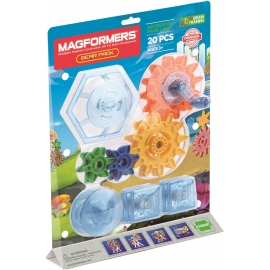 Magformers - Zubehör - Gear Pack 20