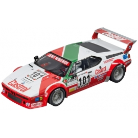 CARRERA DIGITAL 124 - BMW M1 Procar   Team Castrol Denmark, No.101