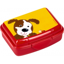 Mini-Snackbox Hund  Freche Rasselbande