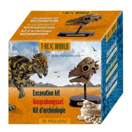 Die Spiegelburg - T-Rex World - Ausgrabungsset Dinoschädel Pachycephalosaurus