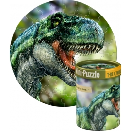 Mini-Puzzles T-Rex World (60 Teile), sor