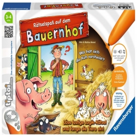 Ravensburger Spiel - tiptoi - Rätselspaß auf dem Bauernhof