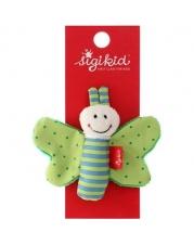 sigikid - Red Stars - Rassel Schmetterling grün
