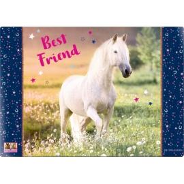 Schreibtischauflage   Best Friend    Pferd
