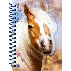 Notizbuch (mit Stickerbogen) Pferdefreun