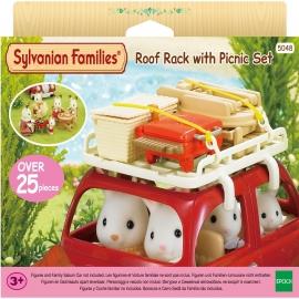 Sylvanian Families - Dachgepäckträger mit Picknick-Set