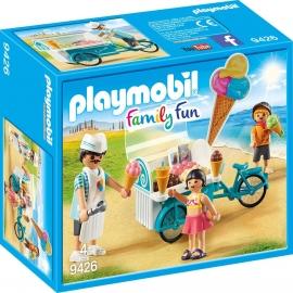 Playmobil® 9426 - Family Fun - Fahrrad mit Eiswagen