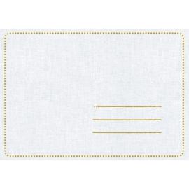Zauberhafte Doppelgrußkarten blau (Basti