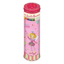 Die Spiegelburg - Buntstift-Dose Prinzessin Lillifee (10 Jumbo-Buntstifte)