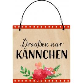 Kleines Gartenschild - I love my Garden,