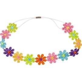 Haarband Blumen  beautiful Stars