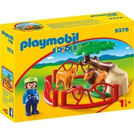 Playmobil® 9378 - 1.2.3. - Löwengehege