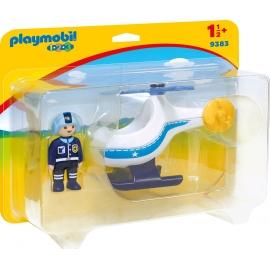 Playmobil® 9383 - 1.2.3. - Polizeihubschrauber