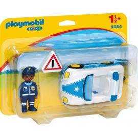 Playmobil® 9384 - 1.2.3. - Polzeiauto