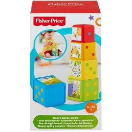 Fisher Price® - Bunte Stapelwürfel