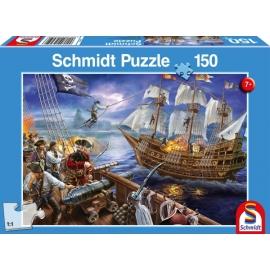 Puzzle Abenteuer mit den Piraten 150 Teile
