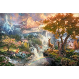 Puzzle Disney, Bambi 1000 Teile