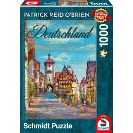 Puzzle Deutschland 1000 Teile