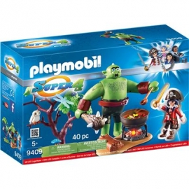 Playmobil® 9409 - Super 4 - Riesen Oger mit Ruby