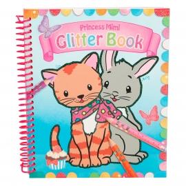 Depesche - Princess Mimi Glitter Book Malbuch