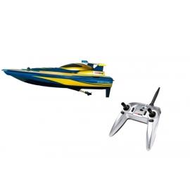 Carrera RC Race Boat blau