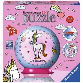 Ravensburger Puzzle - 3D Puzzles - Einhorn, 72 Teile