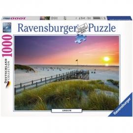 Ravensburger Puzzle - Sonnenuntergang über Amrum, 1000 Teile