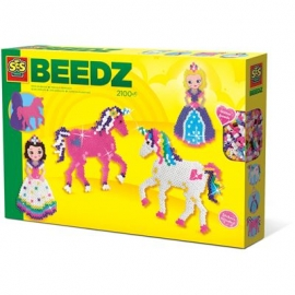 SES Creative - Beedz - Bügelperlen Einhörner und Prinzessinnen