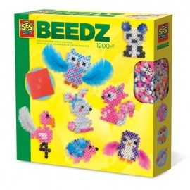 SES Creative - Beedz Bügelperlen Süße Tiere