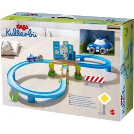HABA® - Kullerbü - Spielbahn Polizei-Verfolgungsjagd