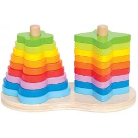 Hape - Regenbogen Steckspiel