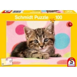 Puzzle  Süßes Katzenkind 100 Teile