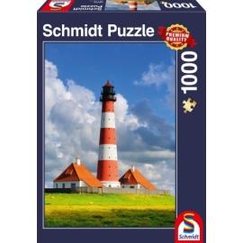 Puzzle  Westerhever Leuchtturm 1000 Teile