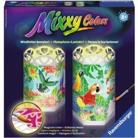 Ravensburger Spiel - Malen nach Zahlen - Mixxy Colors - Paradiesische Vögel