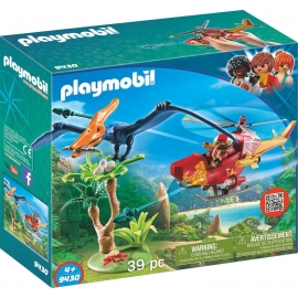 PLAYMOBIL 9430 - Action - The Explorers - Helikopter mit Flugsaurier